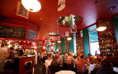 Банкетный зал бара, кафе, ресторана Жан-Жак Руссо на улице Марата