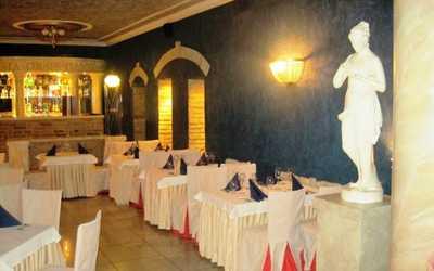 Банкетный зал ресторана Империя (Imperia) на Арсенальной набережной