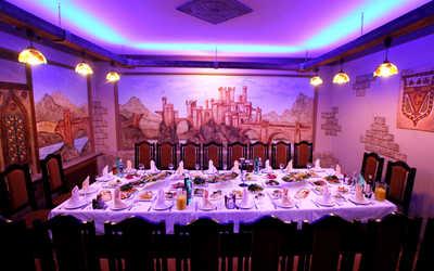 Банкетный зал ресторана Камелот на шоссе Революции