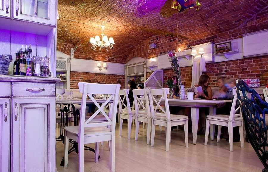 Меню ресторана Новая история на улице Белинского