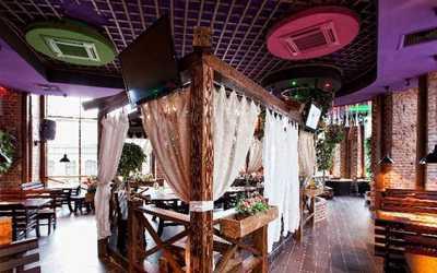 Банкетный зал бара, ресторана Дрова на Загородном проспекте