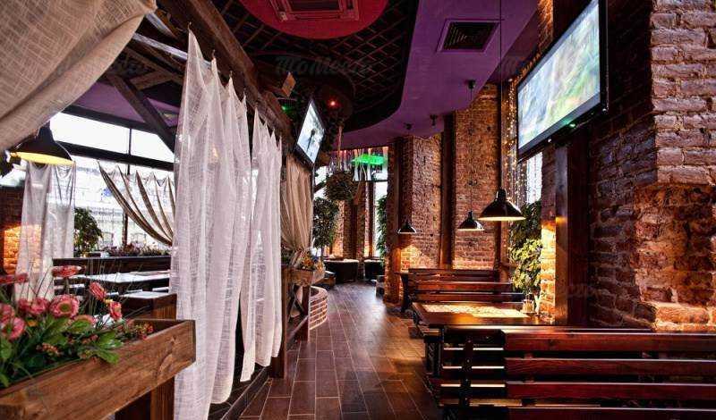 Меню бара, ресторана Дрова на Загородном проспекте