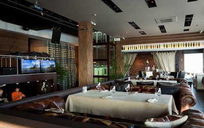 Банкетный зал ресторана Москва Сити (Moskva City) на Петроградской набережной