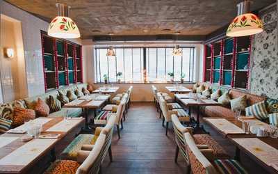Банкетный зал ресторана Пури на Индустриальном проспекте
