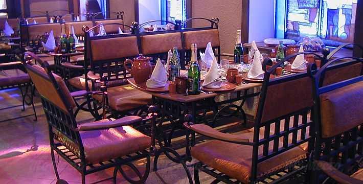 Меню ресторана Кузнечный двор на Среднем проспекте