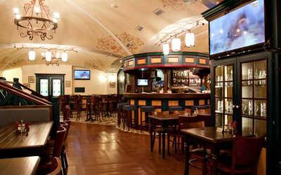 Банкетный зал пивного ресторана Швабен Келлер (Schwaben Keller) на шоссе Революции фото 1