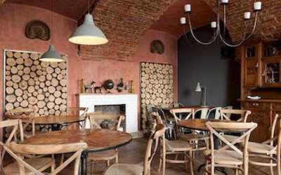 Банкетный зал ресторана Белуга в набережной Макаровой