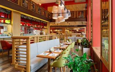 Банкетный зал ресторана Italy на Московском (Итали) на площади Чернышевского фото 3