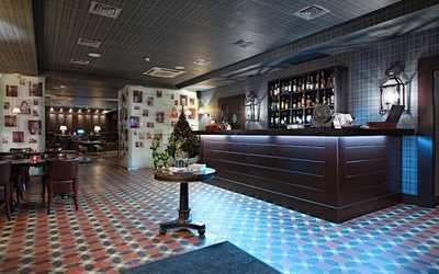 Банкетный зал ресторана, стейк-хауса Стейк Хаус (Steak House) на Суворовском проспекте