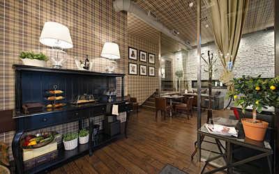 Банкетный зал ресторана, стейк-хауса Bullhouse (Буллхаус) на Конюшенной улице