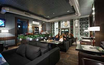 Банкетный зал ресторана, стейк-хауса Bullhouse (Буллхаус) на Корпусной улице фото 3