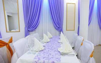 Банкетный зал ресторана Лилак (Lilac) на Московском шоссе