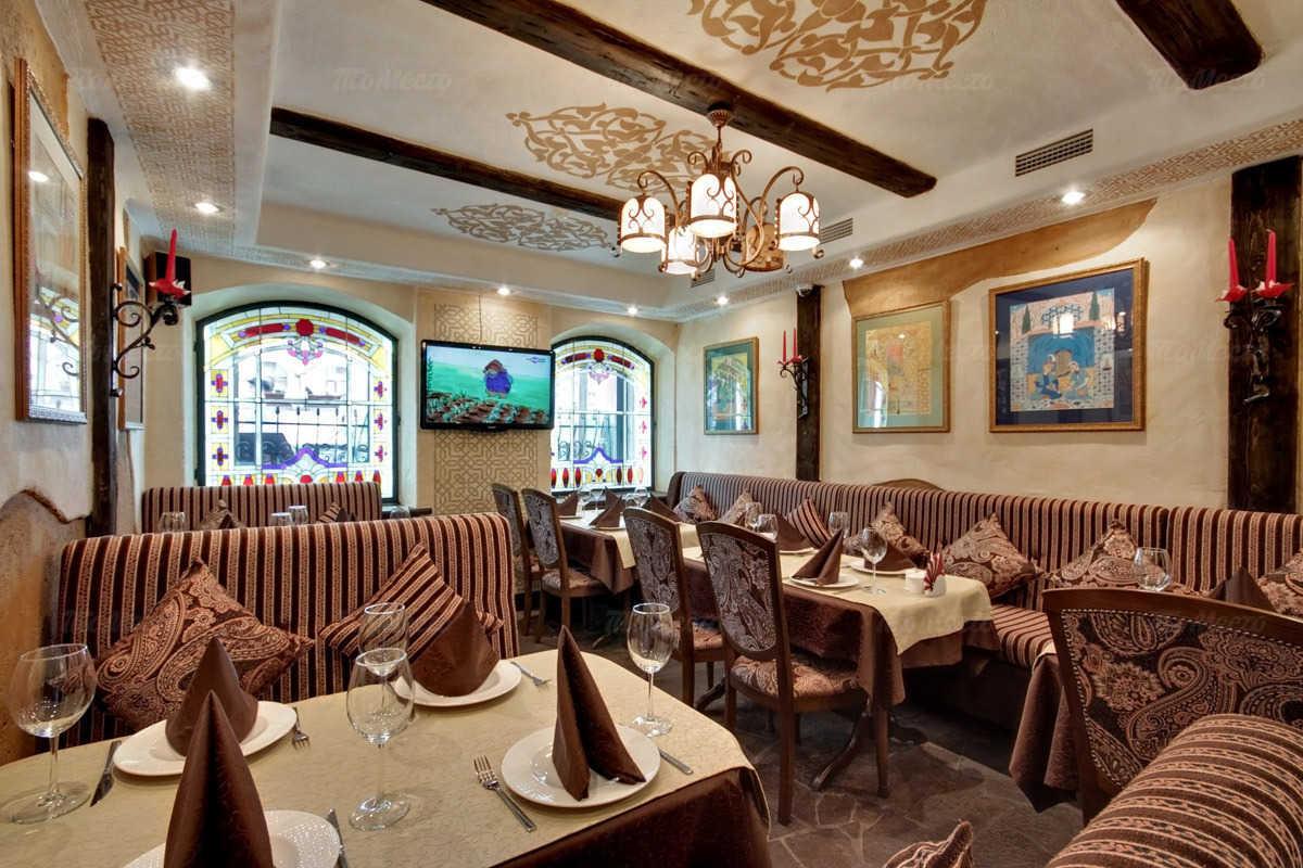 Меню ресторана Семь красавиц на Фурштатской улице