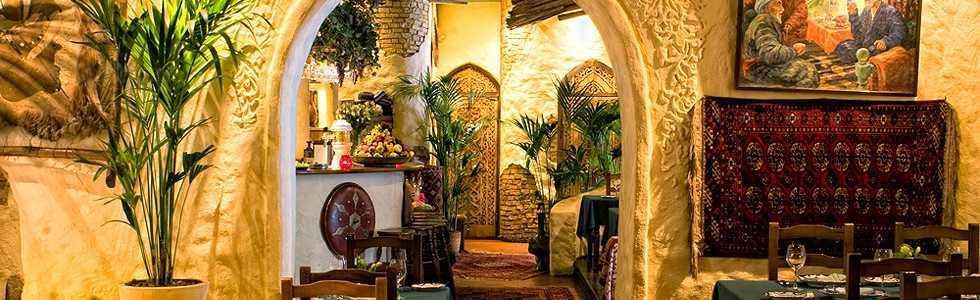 Меню ресторана Белое солнце пустыни на Неглинной улице