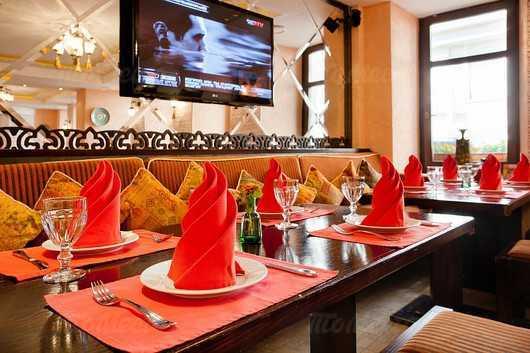 Меню ресторана Халвабар (Halvabar) на улице Петровка