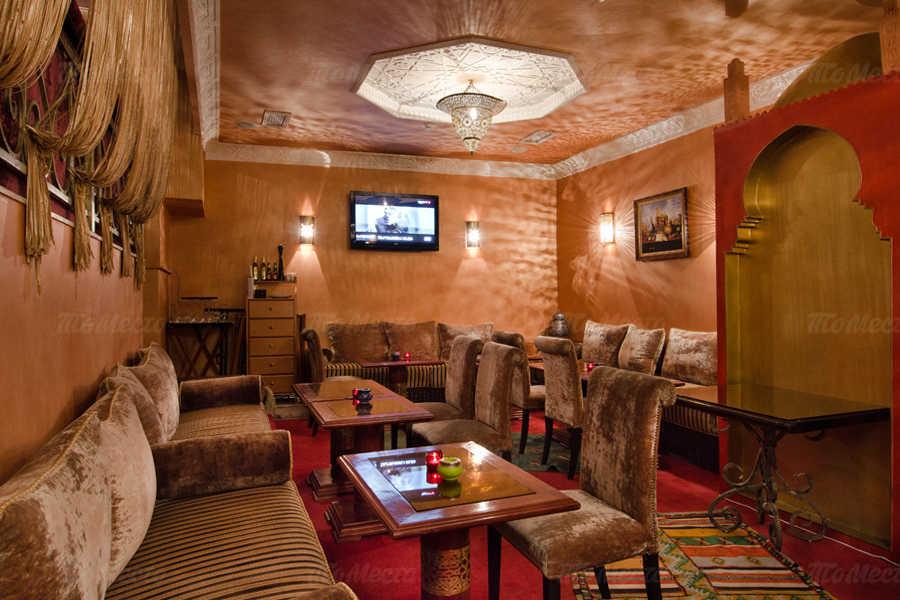 Меню ресторана Касабланка в Оружейном переулке