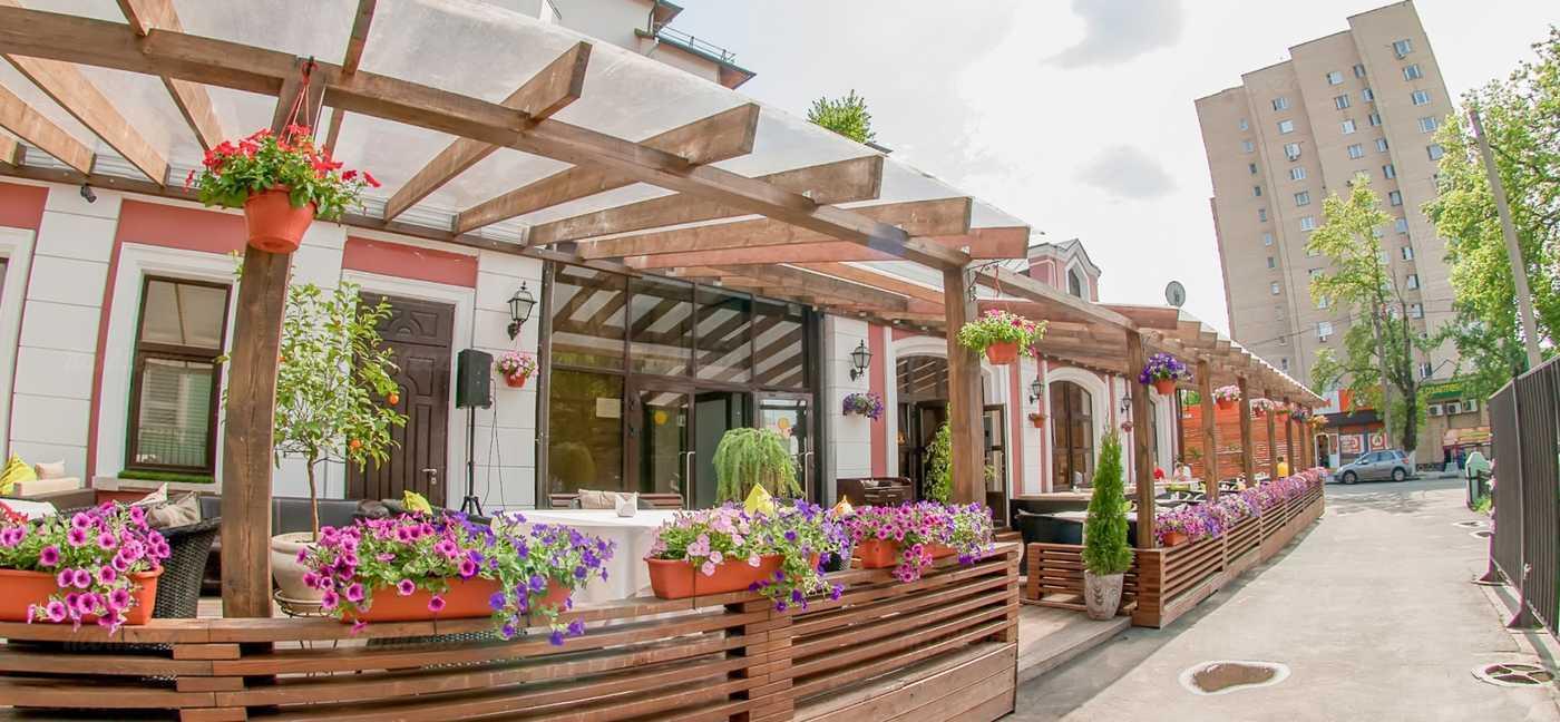 Меню ресторана Ромашка (Romashka) на Верхней Красносельской улице