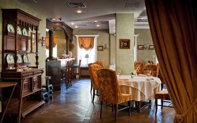 Банкетный зал ресторана Круаж на улице Пречистенка