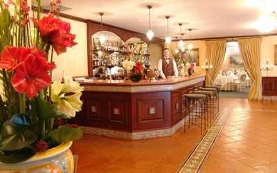 Банкетный зал ресторана Капри на проспекте Академика Сахарова