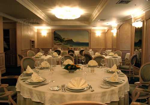 Меню ресторана Капри на проспекте Академика Сахарова