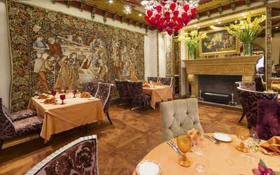 Банкетный зал ресторана Палаццо Дукале (Palazzo Ducale) на Тверском бульваре