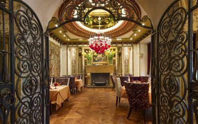 Банкетный зал ресторана Палаццо Дукале (Palazzo Ducale) на Тверском бульваре фото 2