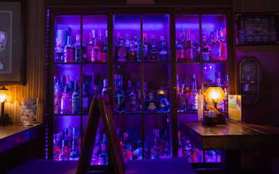 Банкетный зал бара Aloha (Алоха) на Мясницкой улице