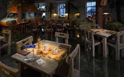 Банкетный зал ресторана Экспедиция. Северная кухня в Певческом переулке