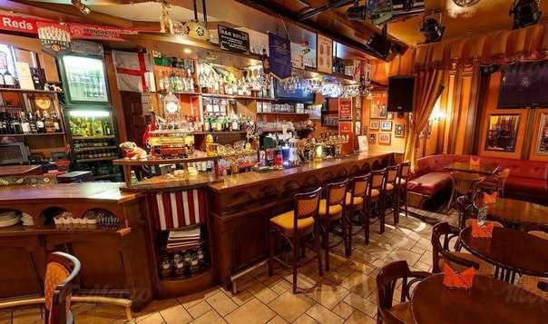 Меню бара, паба Гринвич Паб (Grinvich Pab) на Космодамианской набережной