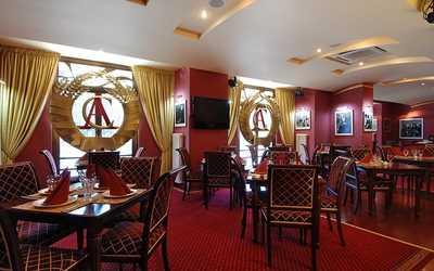 Банкетный зал ресторана АнтиСоветская на Ленинградском проспекте