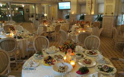 Банкетный зал ресторана Ресторация Люсьен на улице Гиляровского