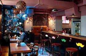 Меню бара Barry Bar (Барри Бар) на улице Кузнецкий Мост