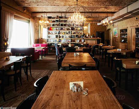 Меню кафе Bookafe в Глинищевском переулке