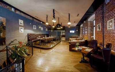 Банкетный зал бара Main Bar (Мэйн Бар) на Тверской улице