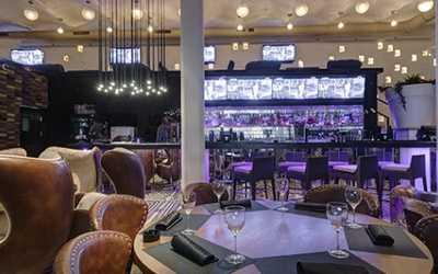 Банкетный зал бара, ночного клуба, ресторана Марадона (Maradona) на Саввинской набережной фото 2
