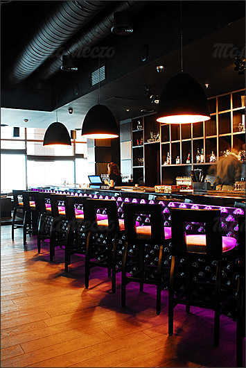 Меню бара Kalina bar на Новинском бульваре
