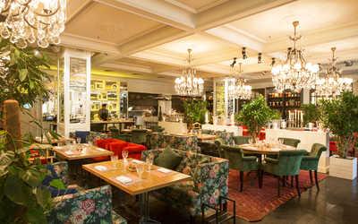 Банкетный зал ресторана Нани на улице Малой Дмитровка