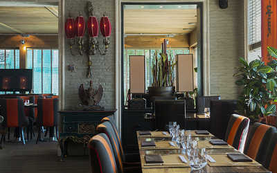 Банкетный зал ресторана Nabi (Наби) на Пречистенской набережной