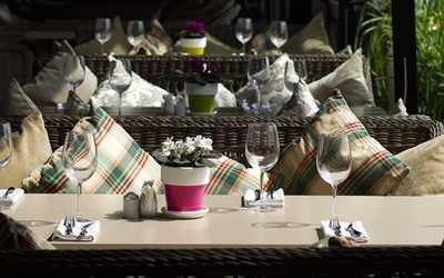 Банкетный зал ресторана VinoGrad (Виноград) на Краснопресненской набережной