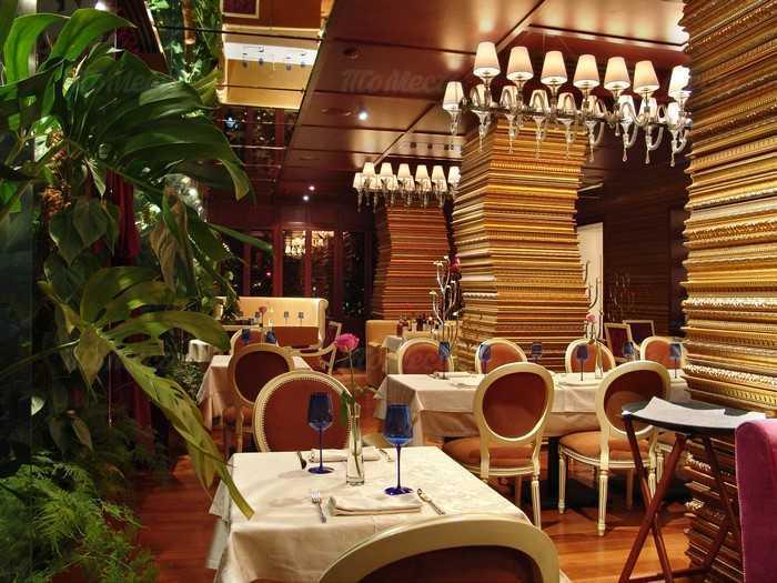 Меню ресторана Альберо (L'Albero) на Делегатской улице