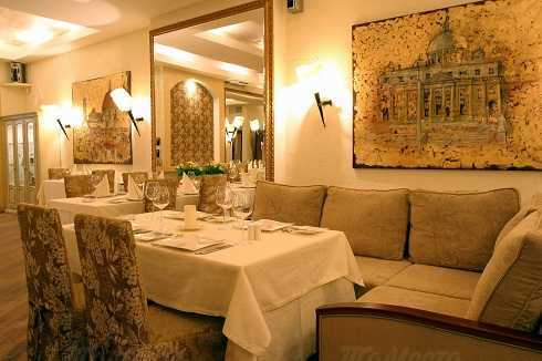 Меню кафе, ресторана Адриатико (Adriatico) в Благовещенском переулке