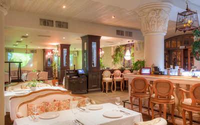 Банкетный зал ресторана The Сад (The Sad) на Якиманской набережной