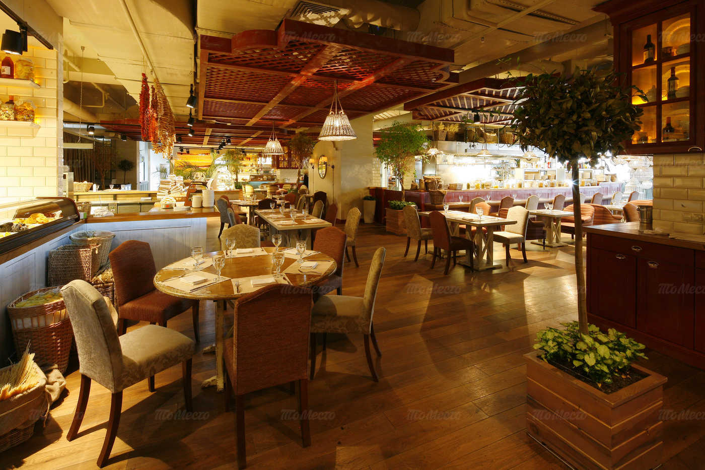 Меню ресторана Балкон на Новинском бульваре
