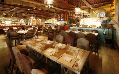 Банкетный зал ресторана Балкон на Новинском бульваре