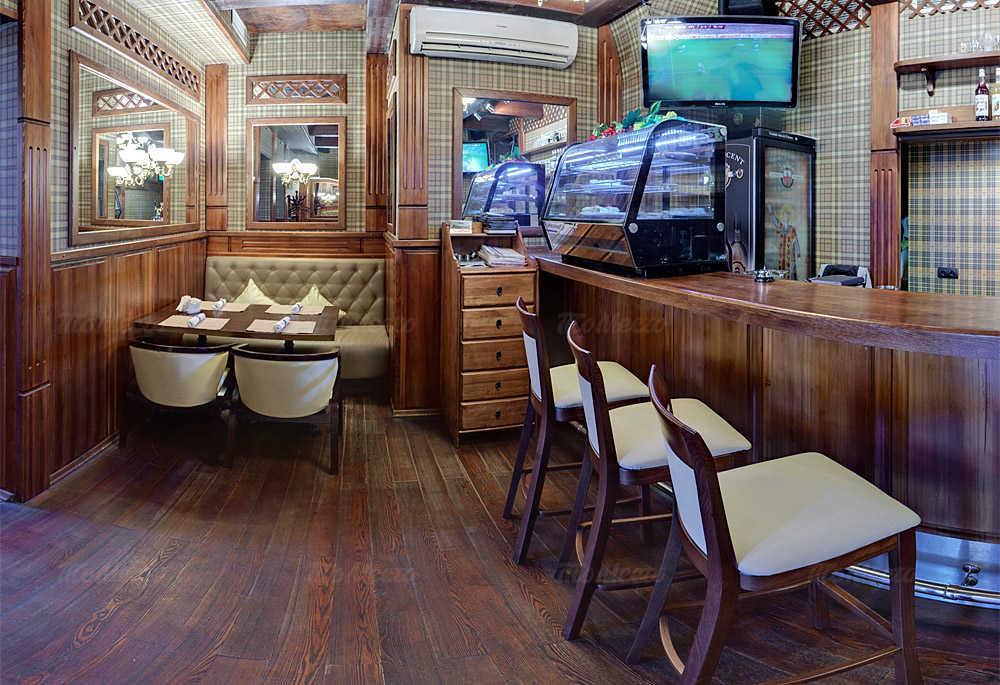 Меню паба, ресторана Виндзор (Windsor Pub) на Садовой-Спасской улице
