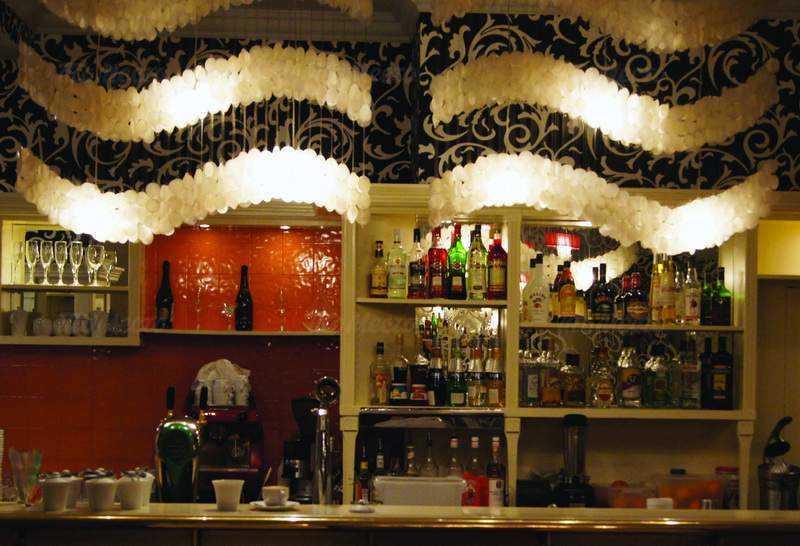 Меню ресторана Гамбери (Gamberi) на Большой Грузинской улице