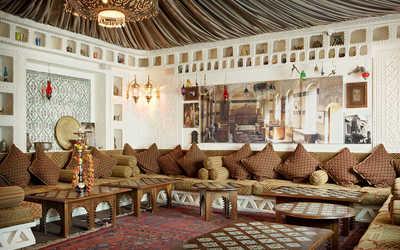 Банкетный зал ресторана Дамас (Damas) на улице Маросейка