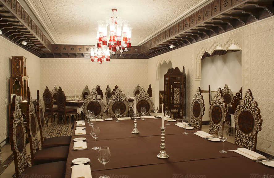 Меню ресторана Дамас (Damas) на улице Маросейка
