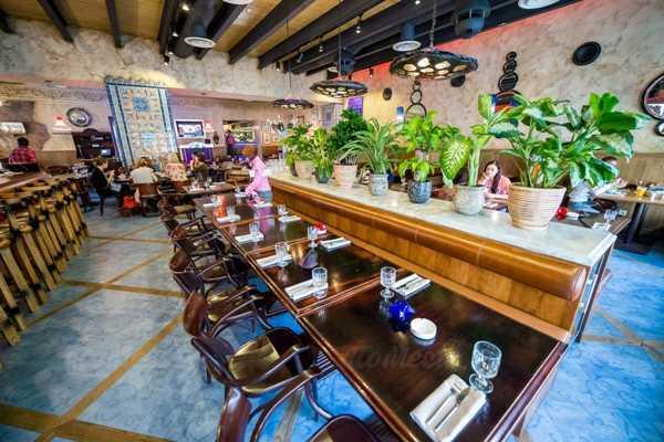 Меню ресторана Дантес на Мясницкой улице
