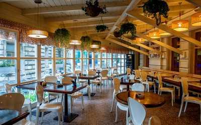 Банкетный зал ресторана Дантес на Мясницкой улице